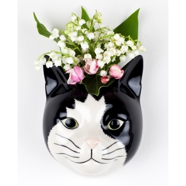 Barney the Cat Wall Vase
