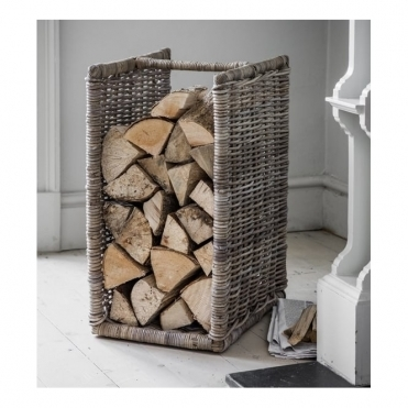 Bembridge Log Holder Rattan
