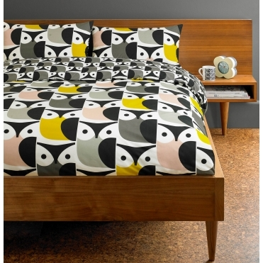 Big Owl Duvet Cover - Super King