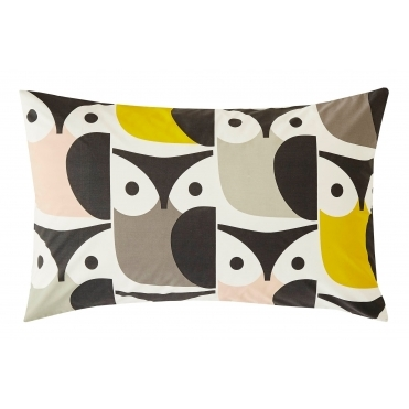 Big Owl - Pillow Cases - Set of 2
