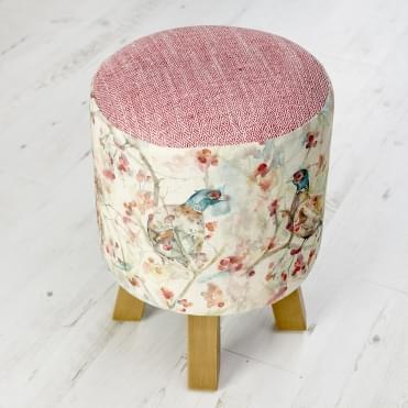 Blackberry Row Monty Pheasant Stool