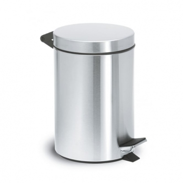 Nexio Pedal Bin 2.5L - Brushed Stainless Steel