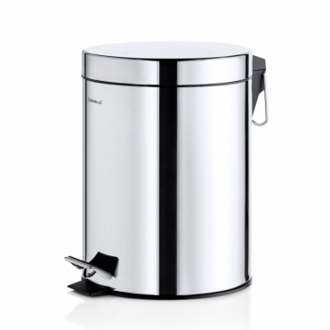 Nexio Pedal Bin 5L - Polished Stainless Steel