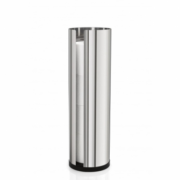 Nexio Spare Toilet Roll Holder Large - Polished Stainless Steel