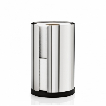 Nexio Spare Toilet Roll Holder Small - Polished Stainless Steel
