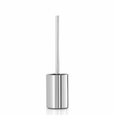 Nexio Toilet Brush & Holder - Polished Stainless Steel