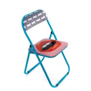 Folding Metal Chair - Mouth