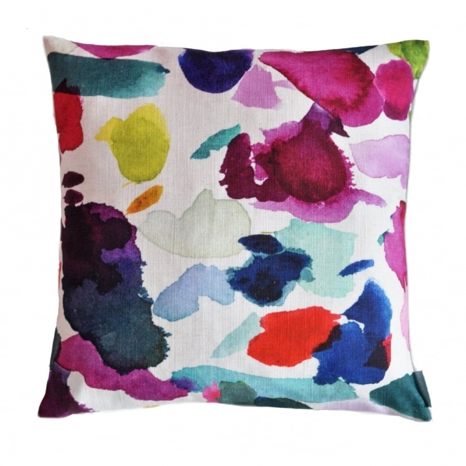 Bluebellgray Abstract Cushion