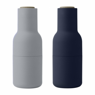 Bottle Grinders Salt & Pepper Set - Classic Blue