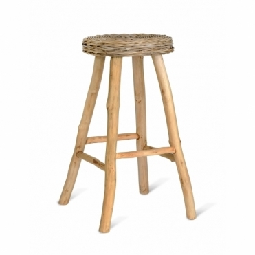 Bracklesham Rattan Bar Stool