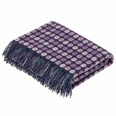 Merino Lambswool Milan Heather Throw Blanket
