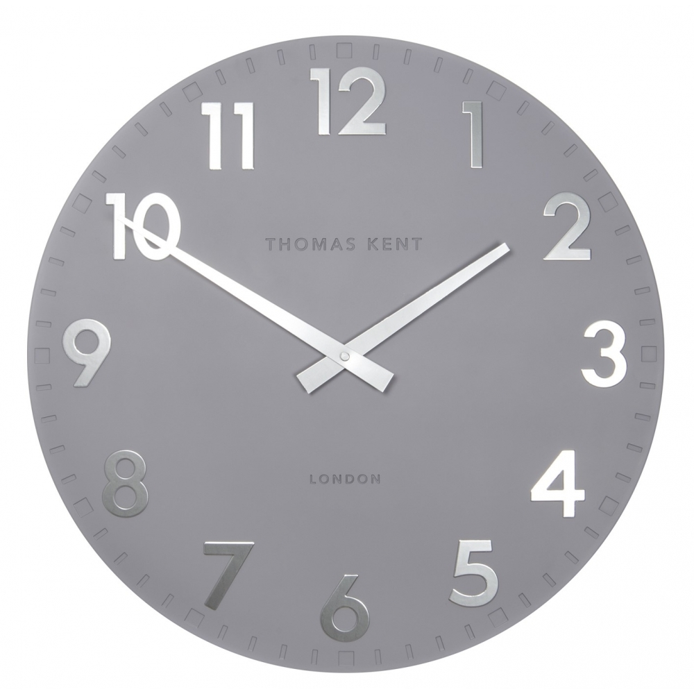 Thomas Kent Clocks Camden 20 Wall Clock Blueberry