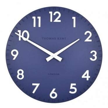 Camden Small 12 inch Wall Clock Indigo