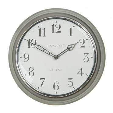 Campbell Wall Clock - Platinum