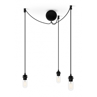 Cannonball Black Cluster Light