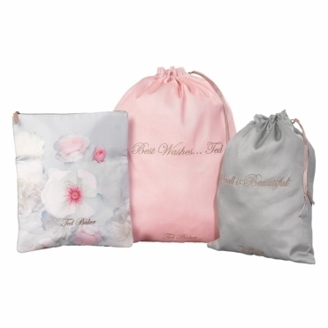 Chelsea Border Laundry Bags - Set of 3