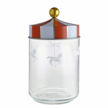 Circus Merry Go Round Glass Jar 100cl - by Marcel Wanders