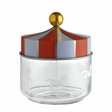 Circus Merry Go Round Glass Jar 50cl - by Marcel Wanders