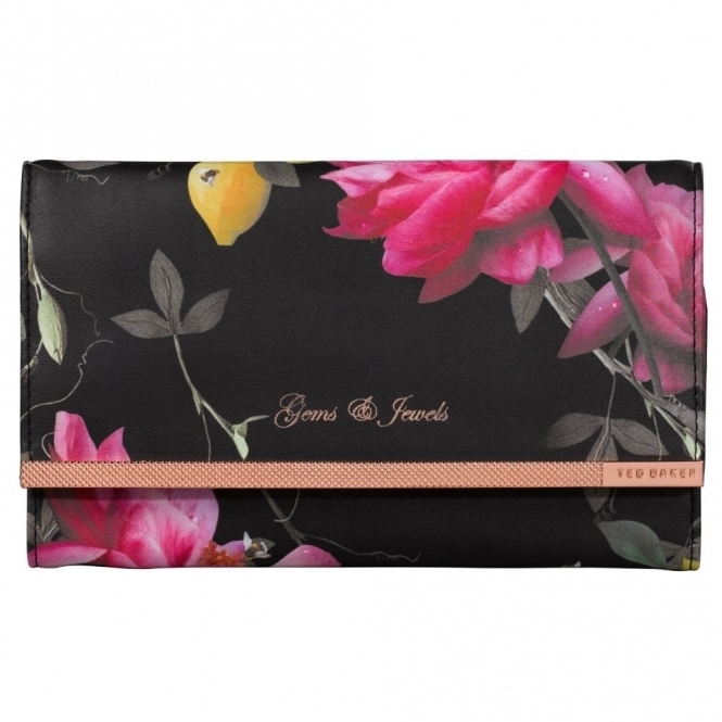 Citrus Bloom Jewellery Roll Rose Gold