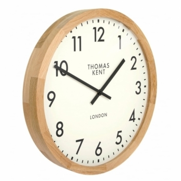 Clifton Large 20 inch Wood Wall Clock