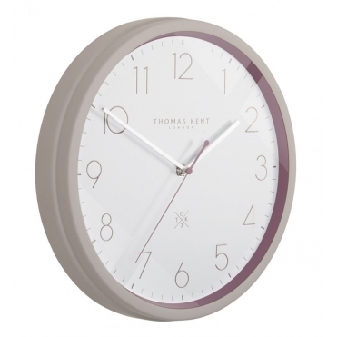 Clocksmith No.3 Wall Clock - Aubergine