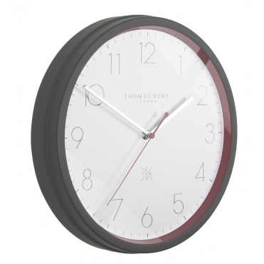 Clocksmith No.3 Wall Clock - Garnet