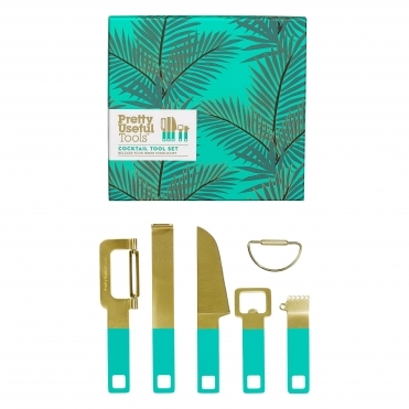 Cocktail Tool Set - Tropical Paradise