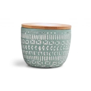 Concrete Scented Candle 3oz - Bergamot & Fresh Fig