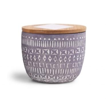 Concrete Scented Candle 3oz - Wildflowers & Birch