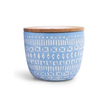 Concrete Scented Candle 3oz - Wisteria & Willow