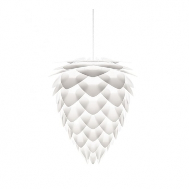 Conia Large White Ceiling Pendant Lamp / Light Shade