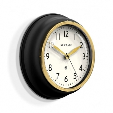 Cookhouse II Wall Clock - Matte Black
