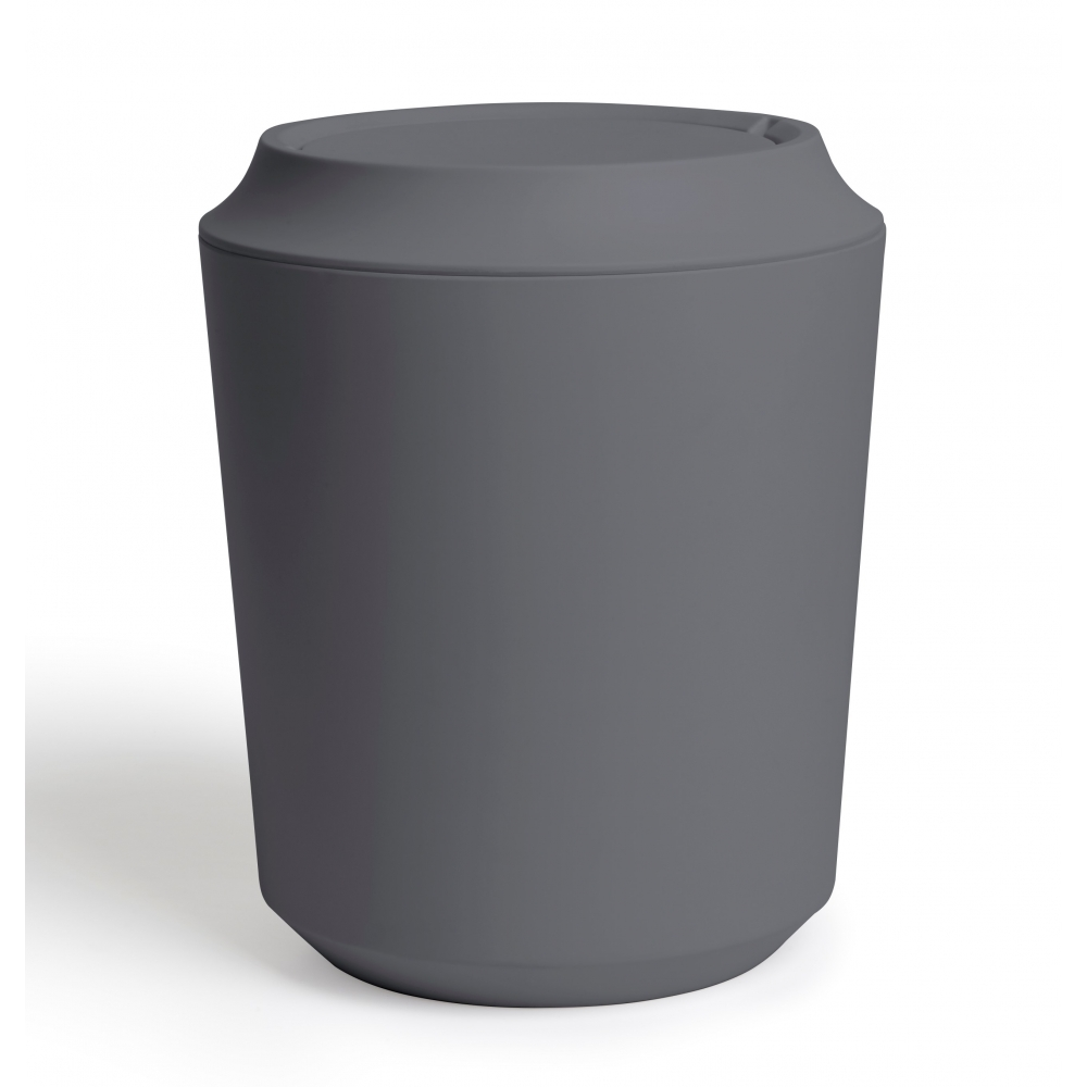 Exceptionnel Corsa Bathroom Waste Bin With Lid   Charcoal