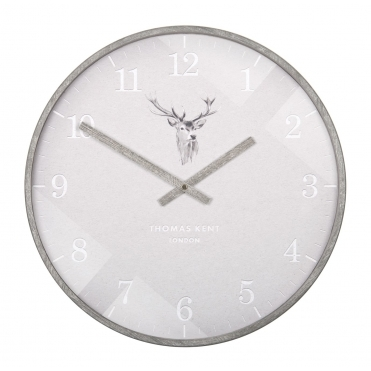 Crofter Wall Clock - Stag