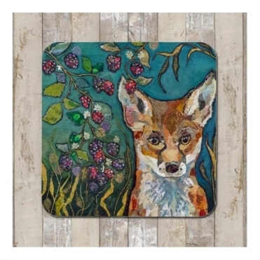 Fox & Brambles Coaster