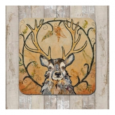 Golden Monarch Placemat - Stag