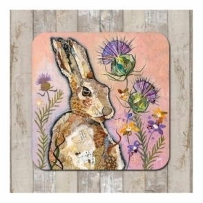 Hare & Thistle Coaster