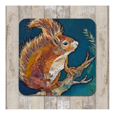 Wee Red Squirrel Placemat