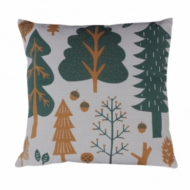 Forest Grey Cushion - Reverse Design Spots