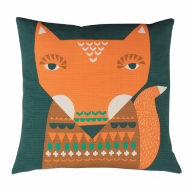 Fox Cushion - Reverse Design Wavy