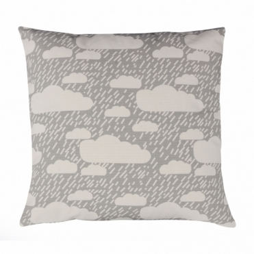 Rainy Day Grey Cushion