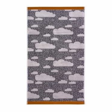 Rainy Day Towels - Grey