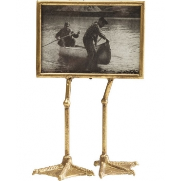 Duck Feet Landscape Photo Display Frame - Gold