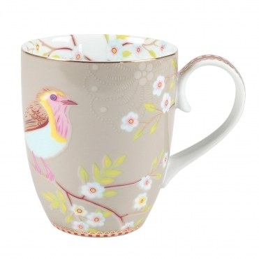 Early Bird Large Khaki Mug