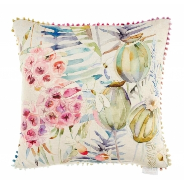 Edenmuir Sorbet Square Cushion - Flowers