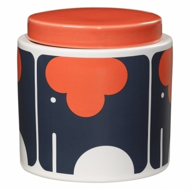 Elephant Storage Jar 1 Litre with Ceramic Lid