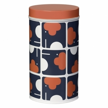 Elephant Storage Tin Canister