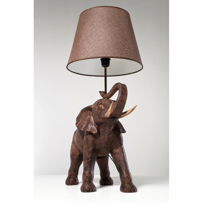 Top Elephant Table Lamp / Floor Light | Hurn and Hurn EW98