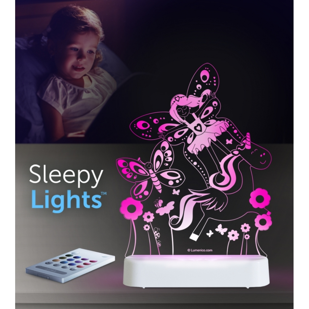 buy online 6d843 98f4b Fairy Land SleepyLight Colour Changing LED Night Light with Remote