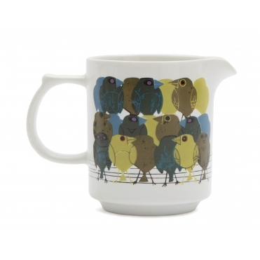 Family of Birds Milk Jug - Gift Box